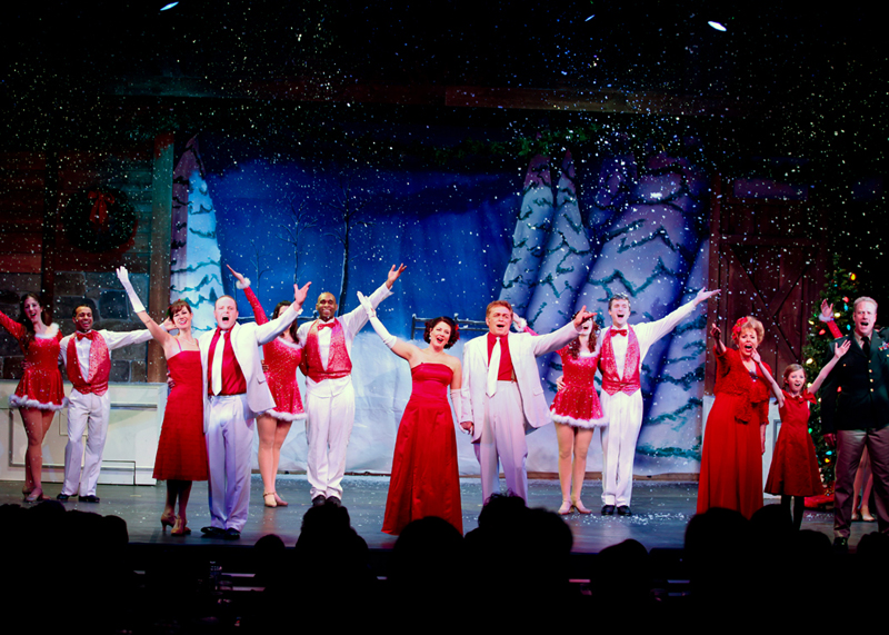 25 dinner and a play - White Christmas Play